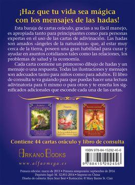 portada Mensajes Mágicos de las Hadas: Cartas Oráculo