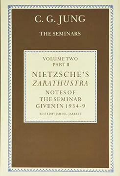 portada Nietzsche's Zarathustra: Notes of the Seminar Given in 1934-1939 by C. Gi Jung: Notes of the Seminars Given in 1934-39: Volume 2 (libro en inglés)