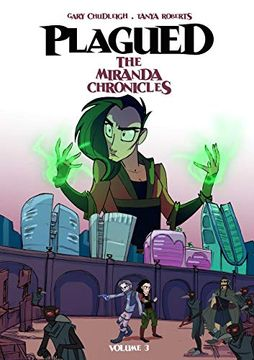 portada Plagued vol 3: The Miranda Chronicles (libro en Inglés)