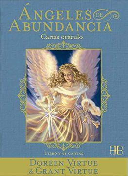 portada Angeles de Abundancia. Cartas Oráculo: Libro y 44 Cartas (Doreen Virtue)