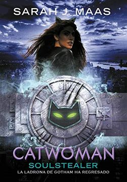 portada Catwoman: Soulstealer  (dc Icons)