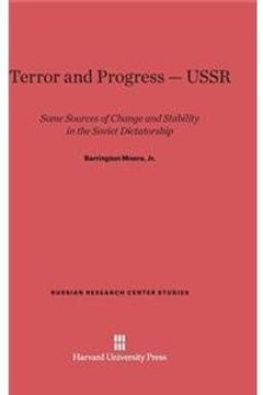 portada Terror and Progress-USSR: Some Sources of Change and Stability in the Soviet Dictatorship (Russian Research Center Studies)