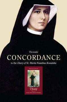 portada Thematic Concordance to the Diary of St. Maria Faustina Kowalska (libro en inglés)