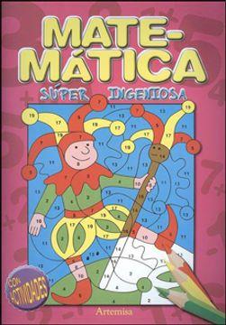 portada Mi Libro de Matemática Para Pintar con Actividades