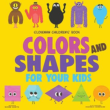 portada Slovenian Children's Book: Colors and Shapes for Your Kids (libro en inglés)