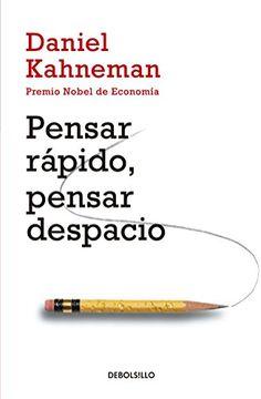 portada Pensar Rápido, Pensar Despacio / Thinking, Fast and Slow (Spanish Edition)