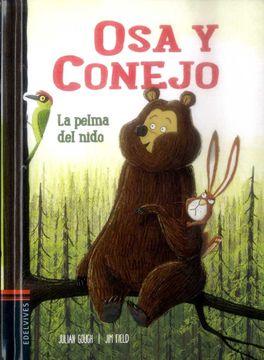 portada OSA Y CONEJO LA PELMA DEL NIDO