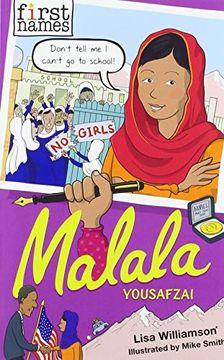 portada Malala: Yousafzai (First Names) (libro en Inglés)