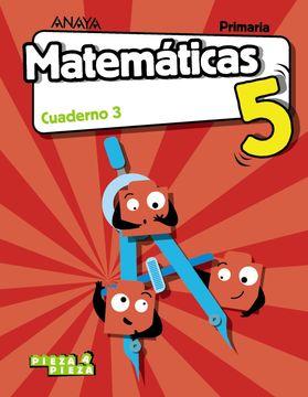 portada Matematicas 5Prim 3ej Vvaa