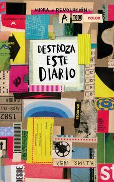 portada Destroza Este Diario ( a Todo Color )