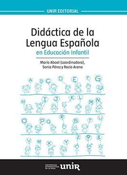 portada Didáctica de la Lengua Española en Educación Infantil (Unir Manuales)