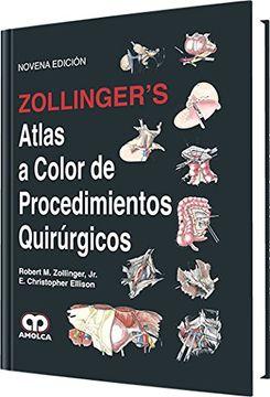 portada Zollinger s Atlas a Color de Procedimientos Quirúrgicos. Novena Edición