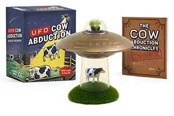 portada Ufo cow Abduction: Beam up Your Bovine (With Light and Sound! ) (libro en Inglés)