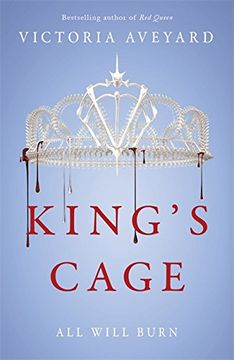 portada King's Cage (Red Queen 3)
