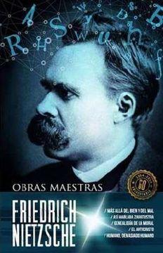 portada Friedrich Nietzsche Obras Maestras