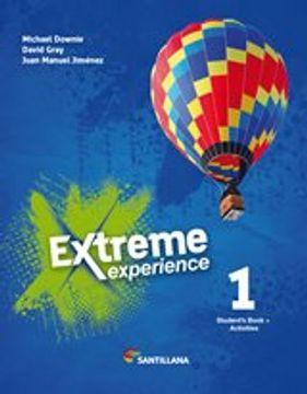 portada Extreme Experience 1 Student's Book + Activities Santillana