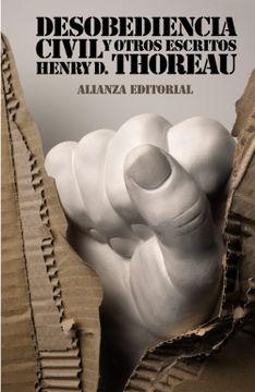 portada Desobediencia Civil y Otros Escritos