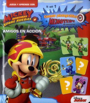 portada Juega y Aprende Mickey Mouse - Amigos en