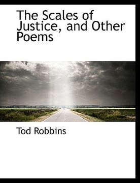 portada the scales of justice, and other poems