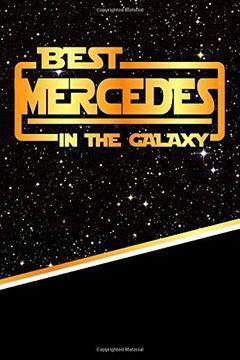 "portada Best Mercedes in the Galaxy: Jiu-Jitsu Training Diary Training Journal log Feature 120 Pages 6""X9"" (libro en inglés)"