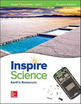 portada Inspire Science: Integrated g7 Write-In Student Edition Unit 3 (Integrated Science) (libro en Inglés)