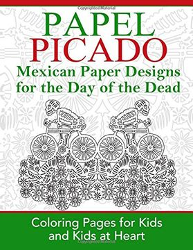 portada Papel Picado: Coloring Pages for Kids and Kids at Heart: Volume 16 (Hands-On Art History)