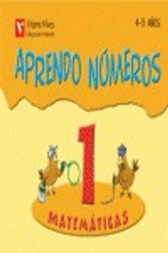 portada Aprendo Numeros Cuaderno 1 (4-5 Años)