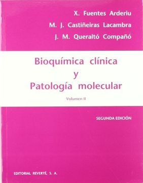 portada Bioquimica Clinica y Patologia - Volumen 2