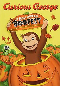 portada Curious George: A Halloween boo Fest (libro en inglés)