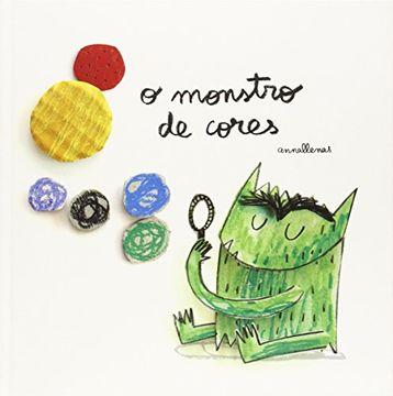 portada O Monstro de Cores (libro en Gallego)
