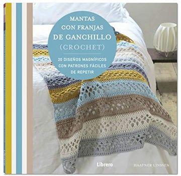 portada Mantas con Franjas de Ganchillo (Crochet)
