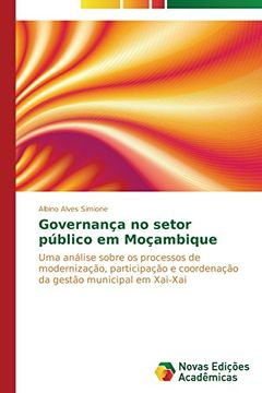 portada Governança no setor público em Moçambique