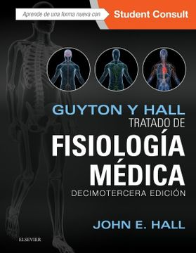 portada Guyton y Hall. Tratado de Fisiología Médica