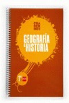 portada Geografía e historia. 1 ESO. Aprende y aprueba. Cuaderno