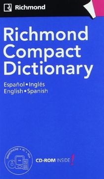 portada Richmond Compact Dictionary Español,Inglés, English,Spanish
