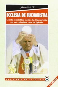 portada ecclesia de eucharistia