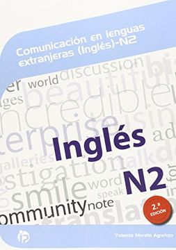 portada Comunicación en lenguas extranjeras (Inglés) N2 (2ª Edición) (Competencias Clave)