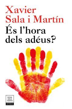 portada Es L'hora Dels Adeus? (libro en catalan)
