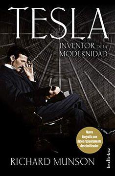portada Tesla: Inventor de la Modernidad