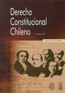 portada Derecho Constitucional Chileno Tomo iii