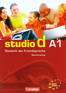 portada Studio d. Sprachtrainer. Per le Scuole Superiori: Studio d a1. Sprachtraining (libro en Alemán)