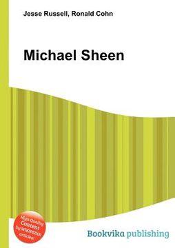 portada Michael Sheen (libro en Inglés)