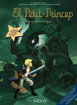 portada El Petit Príncep, 4. El Planeta de Jade (Català - Salvat - Comic - A. De Saint-Exupéry)