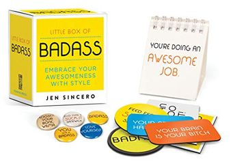 portada Little box of Badass: Embrace Your Awesomeness With Style (Miniature Editions) (libro en Inglés)