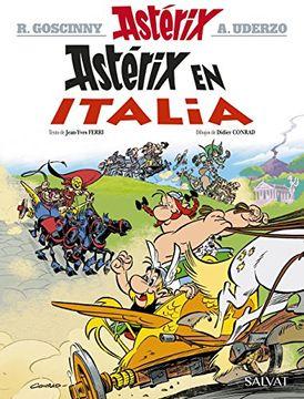 portada Asterix 37. Astérix en Italia