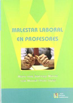portada Malestar Laboral en Profesores