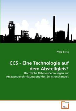 portada CCS - Eine Technologie auf dem Abstellgleis?