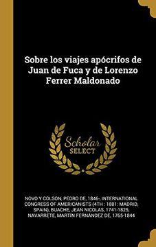 portada Sobre los Viajes Apócrifos de Juan de Fuca y de Lorenzo Ferrer Maldonado
