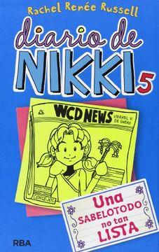 portada Diario de Nikki 5: Una Sabelotodo no tan Lista