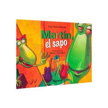portada Martin, el Sapo = Martin the Frog (Que Pase el Tren)